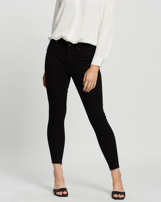 Mng Women's Black Skinny - Isa Jeans - Size 32 at The Iconic