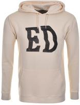 Edwin Classic Logo Hoodie Cream