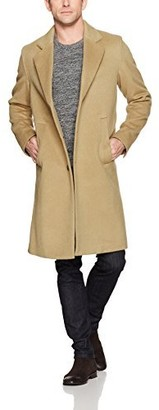 BOSS ORANGE Men's Budge Cozy Overcoat