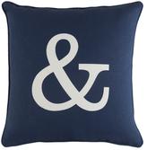 Artistic Weavers Glyph Ampersand Pillow
