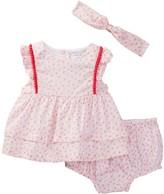 Absorba Dress, Bloomer, & Headband Set (Baby Girls)