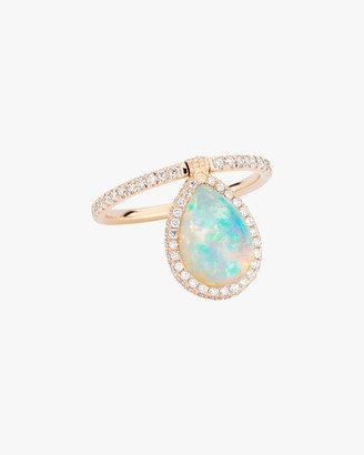 Nina Runsdorf Medium Opal Flip Ring