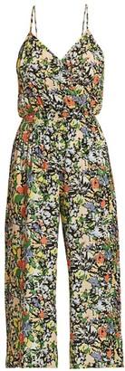 Parker Suze Floral Jumpsuit
