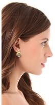 Kenneth Jay Lane Imitation Pearl Bee Earrings