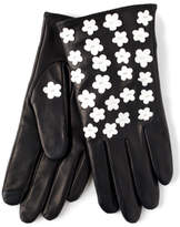 Echo Black Leather Gloves