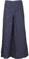 P.A.R.O.S.H. Polka Dot Maxi Skirt