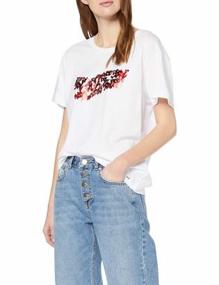 Gas Jeans Women's Francys Logo Flower T-Shirt