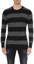 Replay Striped Wool-blend Jumper