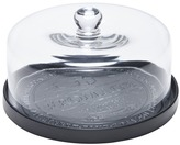 Salt&Pepper Black Fromage Plate & Dome