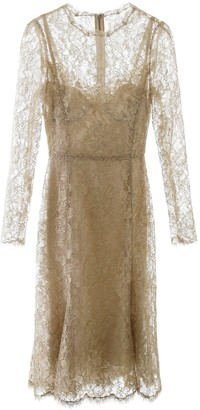 Dolce & Gabbana Layered Midi Dress
