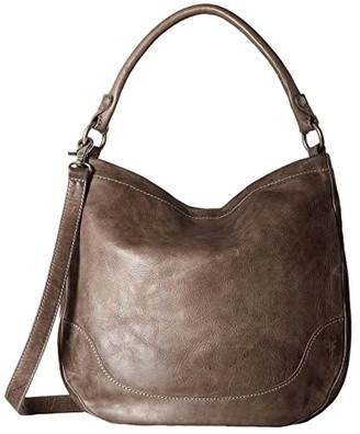 Frye Melissa Hobo (Ice Antique Pull Up) Hobo Handbags