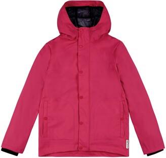 Hunter Rubberized Waterproof Hooded Raincoat