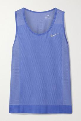 Nike Infinite Dri-fit Tank - Blue