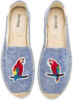 Soludos Parrots Smoking Slipper