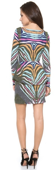 Mara Hoffman Peplum Dress