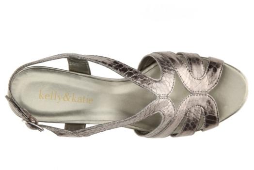 Kelly & Katie Cara Snake Wedge Sandal