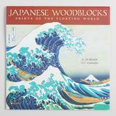 Japanese Woodblock Wall Calendar
