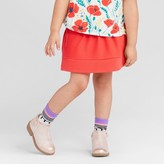 Genuine Kids from OshKosh Toddler Girls' Solid Texture Stretch Skirt - Genuine Kids® from OshKosh® Rocker Red