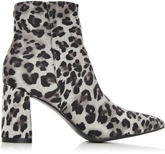 M By Moda Celsee Grey - Leopard Fabric