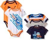 Puma Baby Boys' 5 Pack Bodysuit