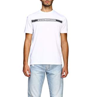 Armani Collezioni Armani Exchange T-shirt Armani Exchange Short-sleeved T-shirt With Maxi Print