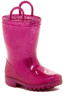 Capelli of New York Glitter Rain Boot (Toddler)