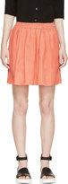 Won Hundred Coral Tati Pocket Skirt