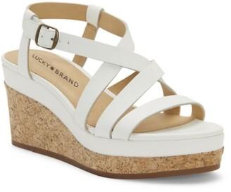 Lucky Brand Batikah Wedge Sandal