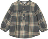 Chloé Checked smock blouse 6-36 months