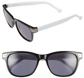 Jonathan Adler Women's 'Santorini' 54Mm Retro Sunglasses - Black