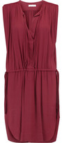 Etoile Isabel Marant Nicky Tasseled Crepe Mini Dress