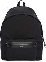 Saint Laurent Black Giant City Backpack