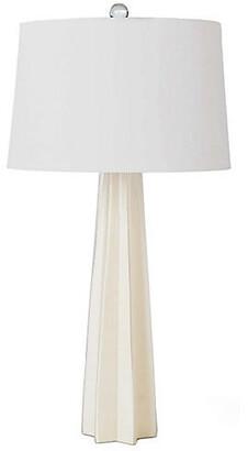 REGINA ANDREW Glass Star Table Lamp - White