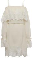 Gold Hawk Claudette Lace Dress