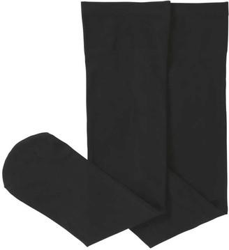 Joe Fresh Women's 2 Pack Trouser Socks, Black (Size O/S)