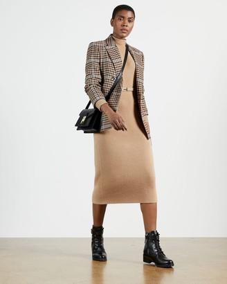Ted Baker Chunky Knit Midi Dress