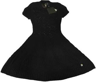 Philipp Plein Black Cotton Dresses