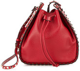 Valentino Garavani Valentino Rockstud bucket bag - women - Leather/metal - One Size