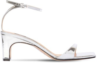 Sergio Rossi 60mm Metallic Leather Sandals