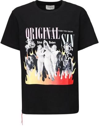 Lifted Anchors Original Sin Print Cotton T-shirt
