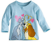 Disney Lady and the Tramp Long Sleeve Tee for Baby