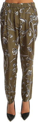 3.1 Phillip Lim Floral Print Draped Trouser
