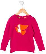 Tory Burch Girls' Embellished Wool Sweater