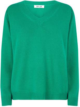 Diane von Furstenberg Wool-Cashmere Kat Sweater