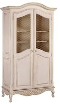 The Well Appointed House Grand Armoire with Wire Mesh Half Doors