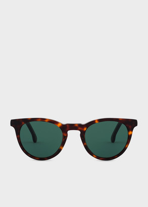 Paul Smith Tortoise 'Archer' Sunglasses