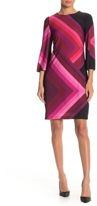 Trina Turk Nightcap Stripe Shift Dress
