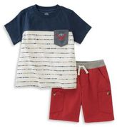 Kids Headquarters Baby Boys Two-Piece Tee and Pant Set