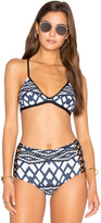 Seafolly Modern Tribe Action Back Tri