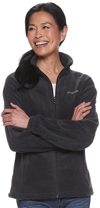 Columbia Women's Benton Springs Zip-Front Fleece Jacket